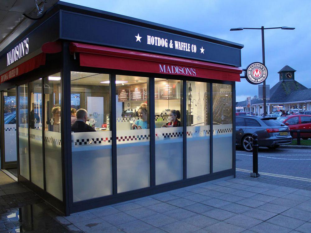 Cafe Kiosk Manufacturer Uk