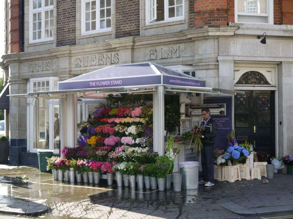 Flower Kiosk Manufacturer Information Kiosks Uk
