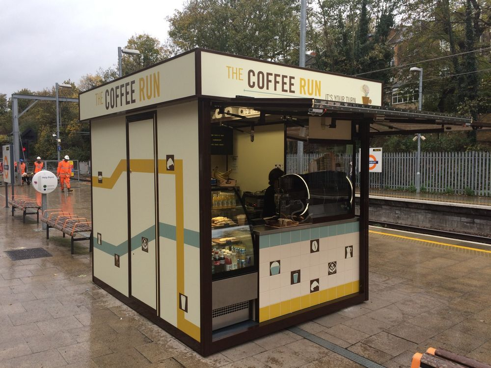 Coffee Kiosk Manufacturer Food UK